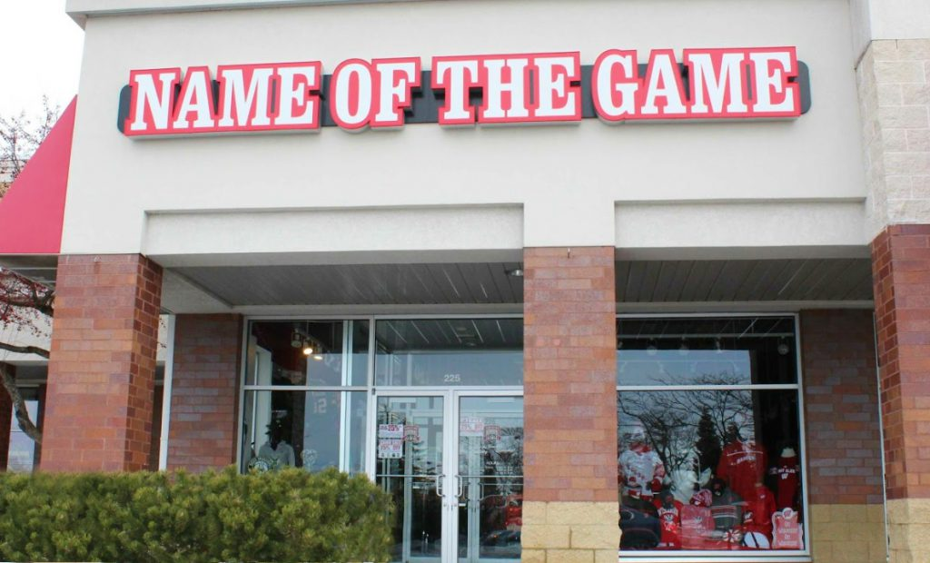 Name of the Game Retail Stores
